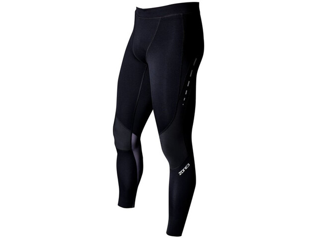 Zone3 Compression Tights Damer, black/grey/gun metal
